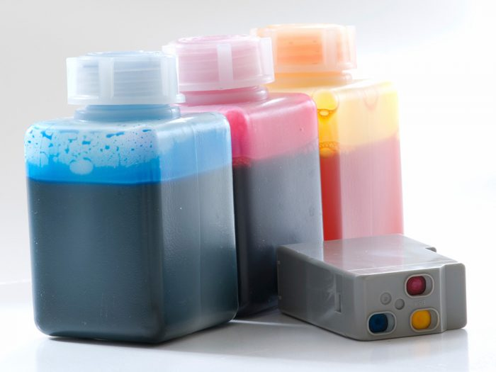 Four Types of Ink for Inkjet Printing