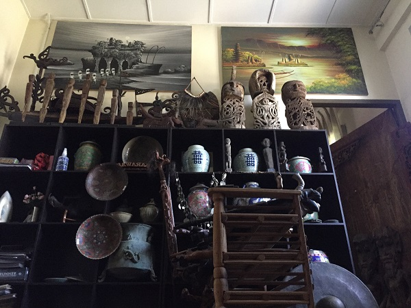 The unique Asian Borneo cultural artifacts, arts and antiques